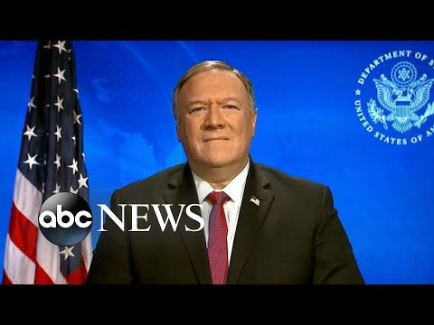 China's coronavirus response was a 'classic communist disinformation effort': Pompeo | ABC News