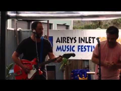 Shane and Simon Hurt Aireys Inlet Music Fest March 2015