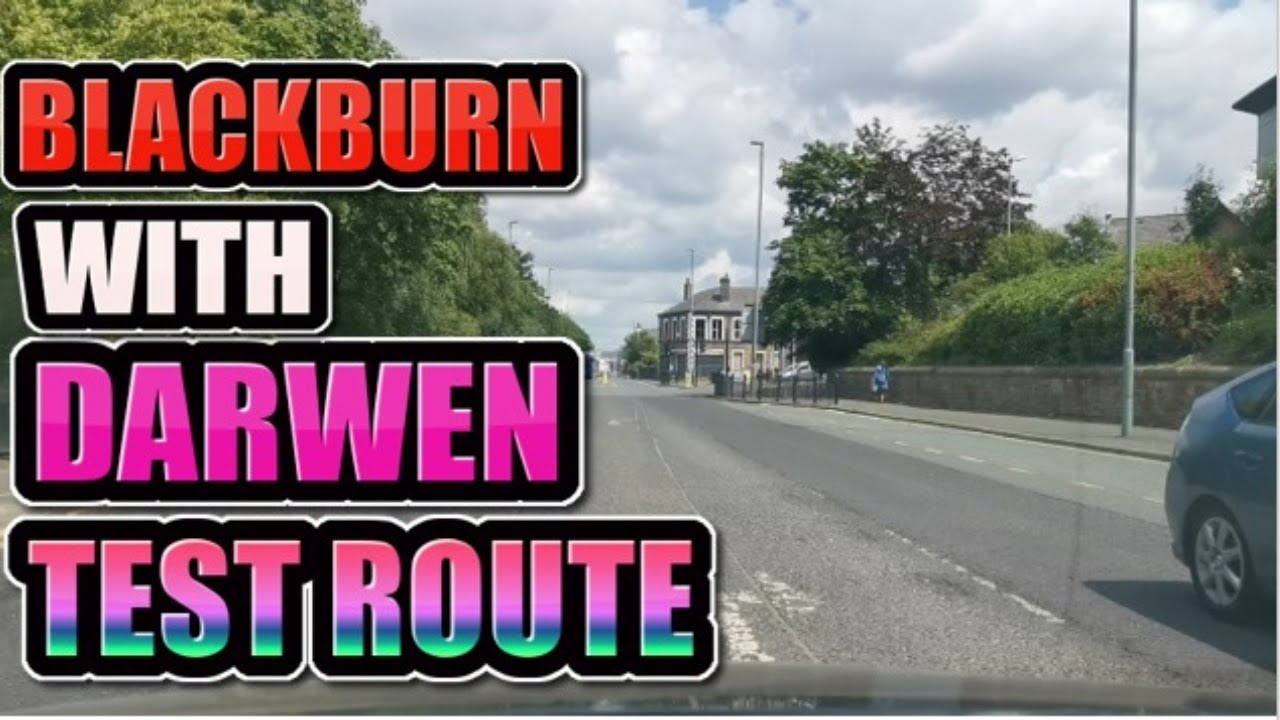 Blackburn With Darwen Test route ! Automatic Driving insturctor Blackburn ! Driving lesson Blackburn