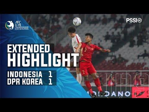 AFC U-19 Championship 2020 Qualifiers: Indonesia 1-1 DPR Korea