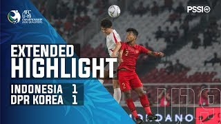 Afc U 19 Championship 2020 Qualifiers: Indonesia 1 1 Dpr Korea