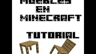 Muebles para minecraft que se pueden usar, sin mod - tutorial comando 1.8 JuliPlay