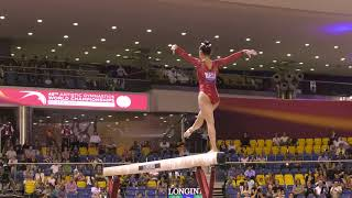 Kara Eaker - Balance Beam - 2018 World Championships - Women's Team Final