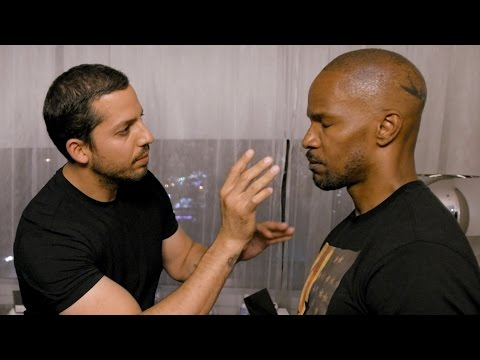 Jamie Foxx Invisible Touch Trick: Real or Magic   David Blaine