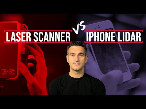 Laser Scanning vs. IPhone Lidar | Click 3D Ep.20