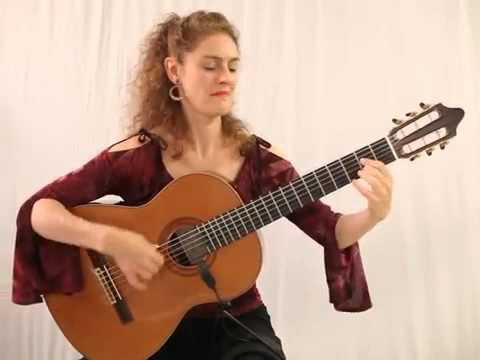 Marija Temo performs Llama De Amor with Flamenco Guitar