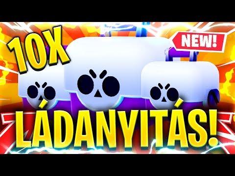 ÚJABB 10 BIG BOX NYITÁS! BIG BOX OPENING! / Brawl Stars Magyarul