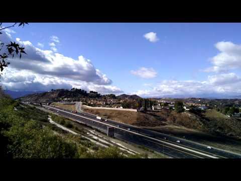 Canyon Country, Santa Clarita, California Panorama