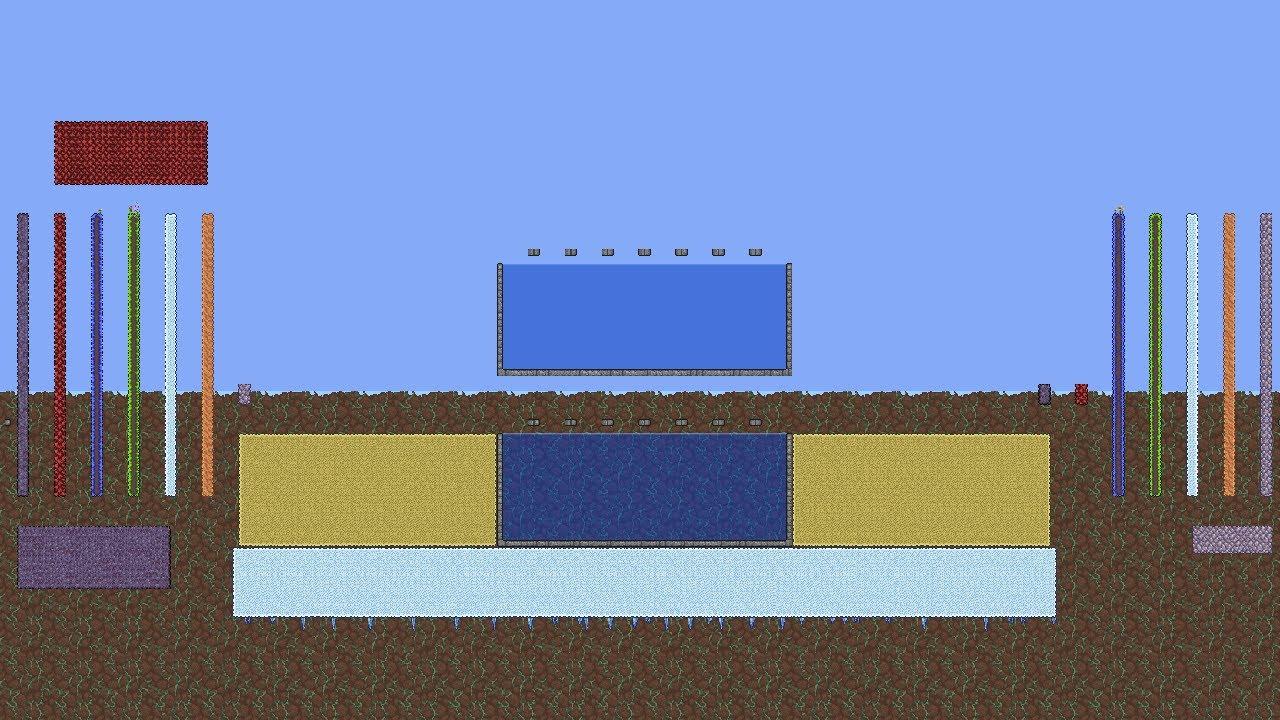 [Terraria] Multiple Biome Fishing Pool (PC 1.4)