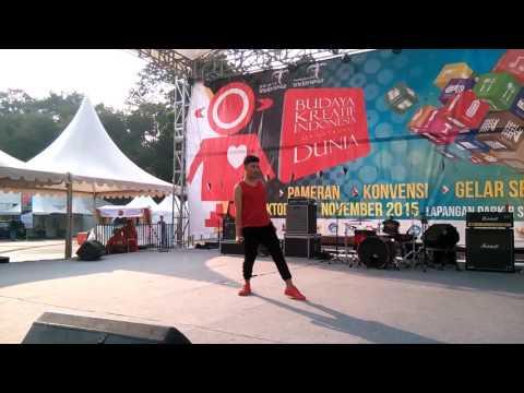 HOTT!!! Goyang Ardhee Barriq - Ya Sudahlah Live Perform - GBK Jakarta