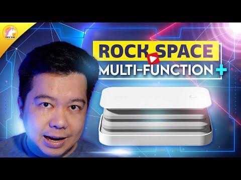 รีวิว rock space Multi function + แท่นชาร์จไร้สาย + กล่องฆ่าเชื้อ + พับเก็บได้ | review.co.th
