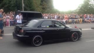 Драг м. Коломия 23.08 Subaru Impreza WRX (500+) vs Meredes-Benz G63 AMG V8 Bitutbo