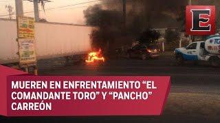 ÚLTIMA HORA: Abaten a dos líderes del narco que operaban en Tamaulipas
