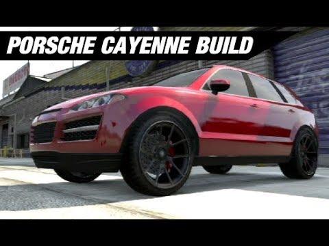 Turbo Porsche Cayenne Build Gta 5