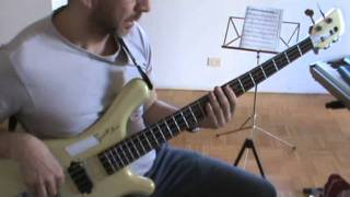 Cucumber Slumber Bass Groove Play Along Cesar Franov