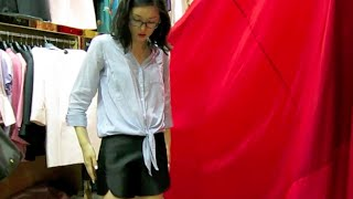Shanghai Vlog: Tailoring at the Fabric Market + Brunch at Madison!