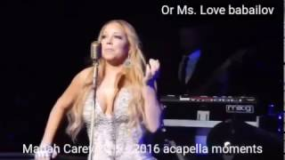 Mariah Carey 2013 - 2016 acapella moments
