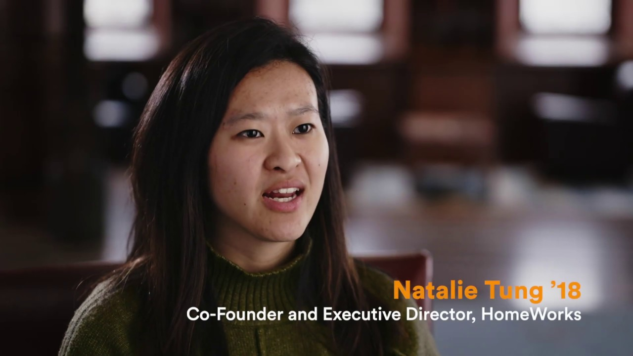 2019 Tiger Entrepreneur Award Winner: Natalie Tung '18