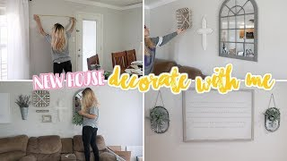 DECORATE WITH ME- SUMMER 2018   FARMHOUSE STYLE   AFFORDABLE HOME DECOR