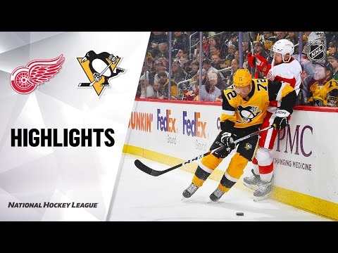 NHL Highlights   Red Wings @ Penguins 2/16/20