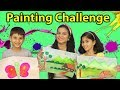 Kids Painting Challenge I Funny Drawing Challenge