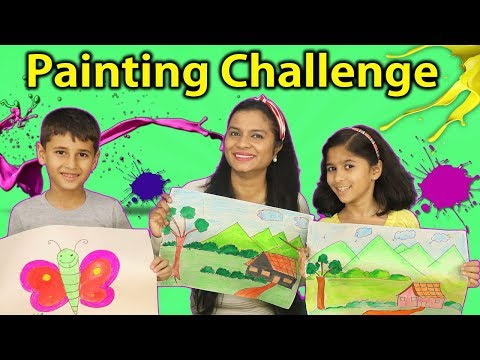 Kids Painting Competition I Funny Drawing Competition