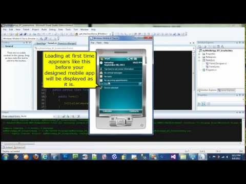 Windows Mobile Application Development Tutorial using C#.NET By Israel Ocbina