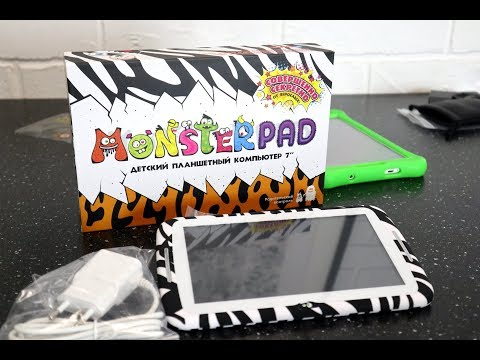 Детский Планшет MonsterPad. Гаджеты для детей. Распаковка и обзор