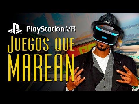 Los 5 juegos que más MAREAN de PlayStation VR | LaPS4
