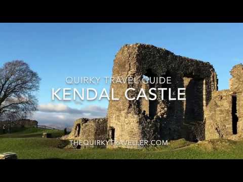 Quirky Travel Guide: Kendal Castle #Cumbria