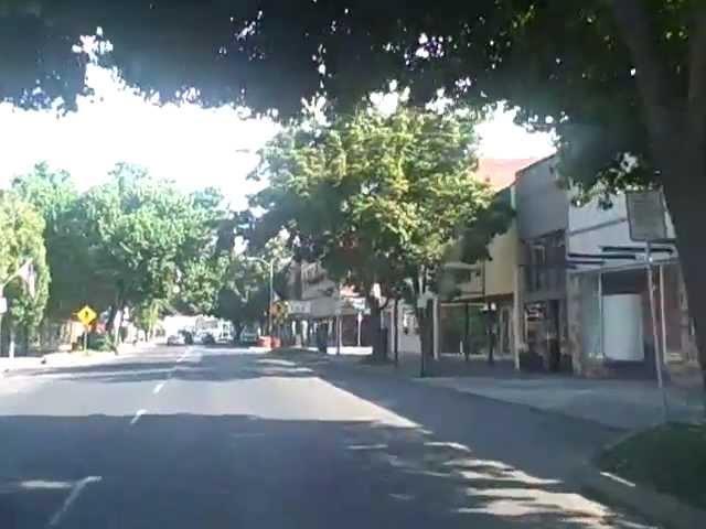 Driving through Lewiston, Idaho