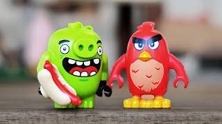 LEGO Angry Birds СВИНОГРАД - НАБОР НА ОБЗОР (75824)