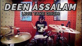 DEEN ASSALAM LIVE TAKE DRUM COVER
