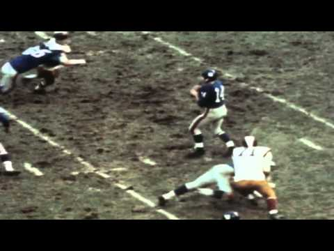 Flashback Friday: Y.A. Tittle throws 7 touchdowns