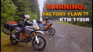 "KTM ADVENTURE 1190 R ""MUST WATCH"" Disaster on the trail."