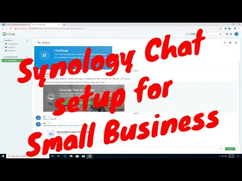 Synology Chat - Setup For Small Business-Part 3