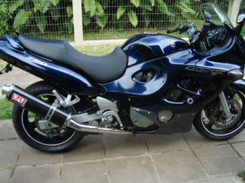 minha primeira moto suzuki gsxf 750 cc youtube. Black Bedroom Furniture Sets. Home Design Ideas