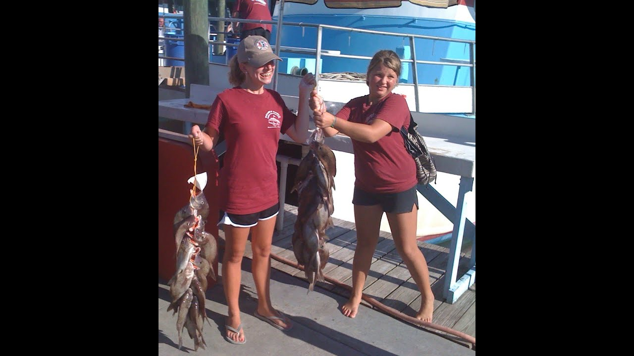 Party boat fishing charters key west largo marathon for Party boat fishing florida