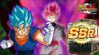 RHYMESTYLE TRIGGERED THESE SUMMONS! All Aboard The SSR Train! Dragon Ball Z Dokkan Battle JP