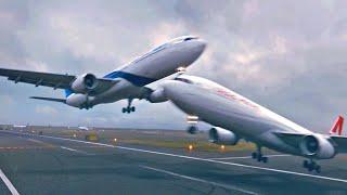 Невероятные Посадки Самолетов Снятые на Камеру