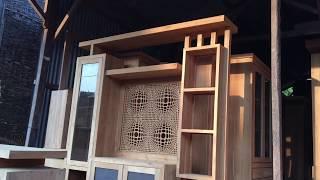 Furniture Jepara Minimalis   Sketsel Minimalis Ukir, Penyekat Ruangan Rumah Kayu Jati Dari Jepara