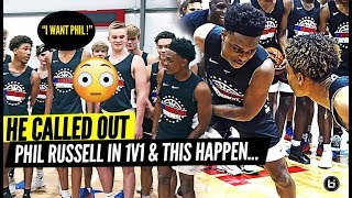 VASHON PG GETS CALLED OUT!! PHIL RUSSELL & CAM