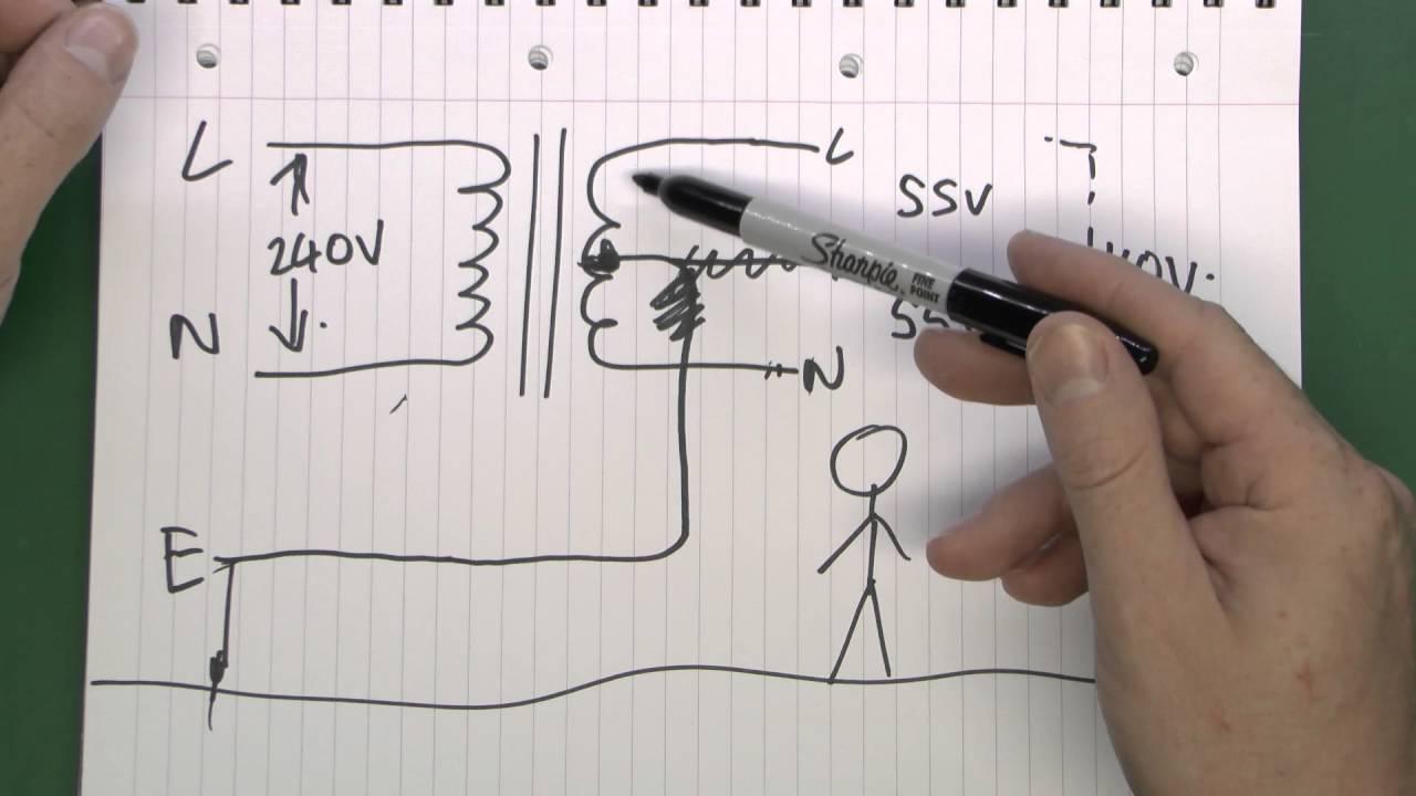 isolation transformer wiring diagram