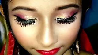COMPLETE AND REAL BRIDAL MAKEUP TUTORIAL