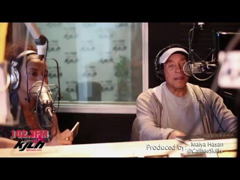 Smokey Robinson Interview with Mac & Amiche on KJLH Radio