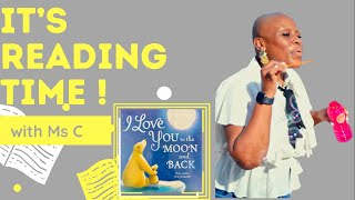 Bedtime ABA Storytelling Series | I Love You To The Moon and Back #READALOUD