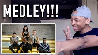 Singer Reaction to TOP POP, VOL. I MEDLEY by Pentatonix