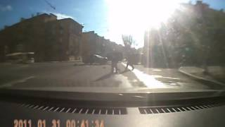 ДТП Пересечение Краснопутиловской и Зайцева