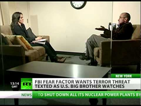 Fear Factor: Big Brother wants terror threat texted to your mobile