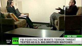 Fear Factor_ Big Brother wants terror threat texted to your mobile